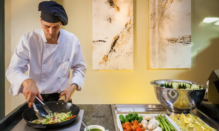Occidental Estepona Thalasso & Spa buffet restaurant gastronomy