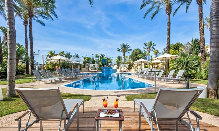 Occidental Estepona Thalasso & Spa pool view