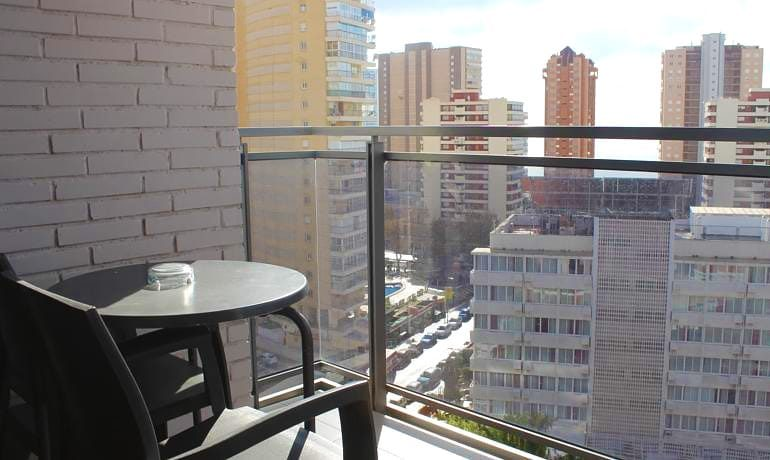 Flash Hotel Benidorm double room balcony view