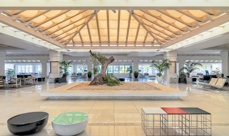 H10 Andalucía Plaza hotel lobby