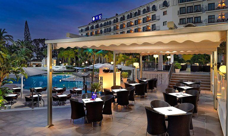 H10 Andalucía Plaza hotel naturalia bar