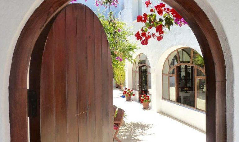 Hotel Ca´s Catala entrance door