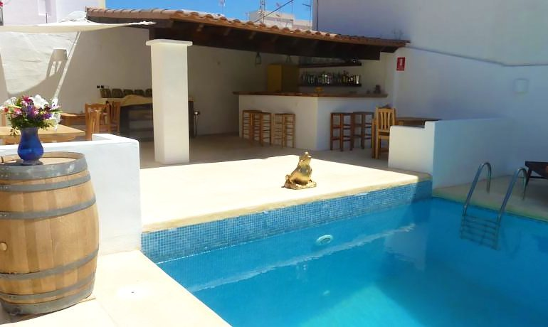 Hotel Ca´s Catala pool area