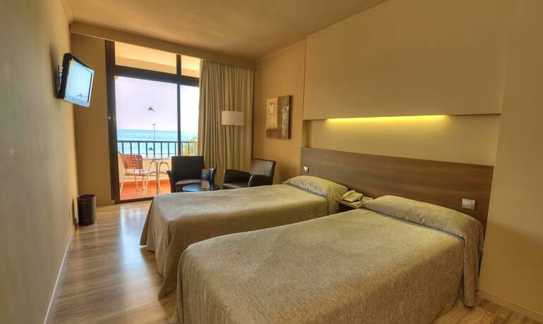 IFA Beach Hotel double deluxe with sea view