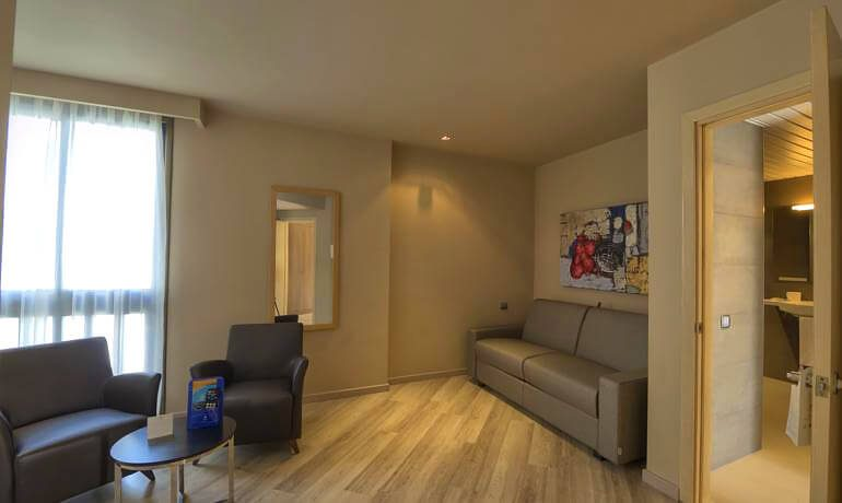 IFA Beach Hotel suite living room