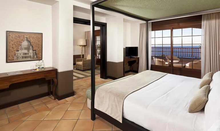 Melia Hacienda del Conde junior suite with sea view