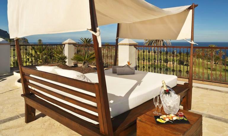 Melia Hacienda del Conde sun terrace
