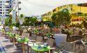 Riviera Beachotel music lounge terrace