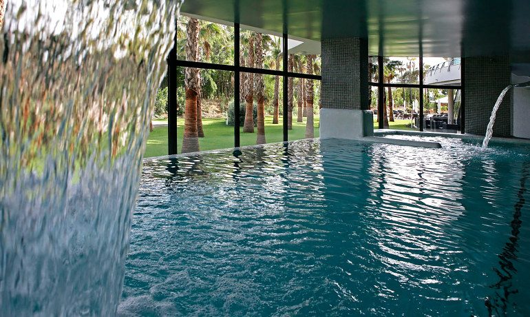 Senator Banus Spa Hotel indoor pool view