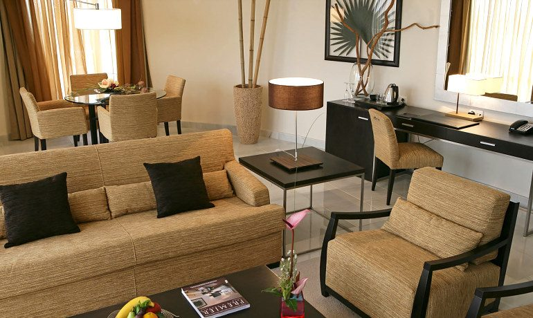 Senator Banus Spa Hotel suite with lounge