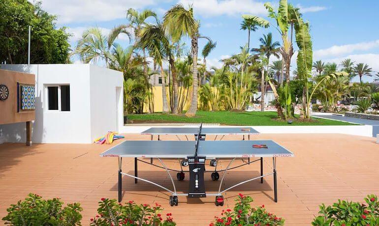 SENTIDO Gran Canaria Princess table tennis