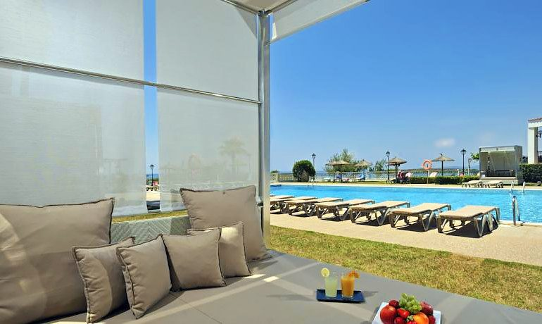 Sol Beach House Menorca pool view