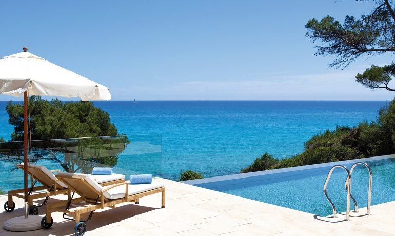 Can Simoneta hotel beach house pool