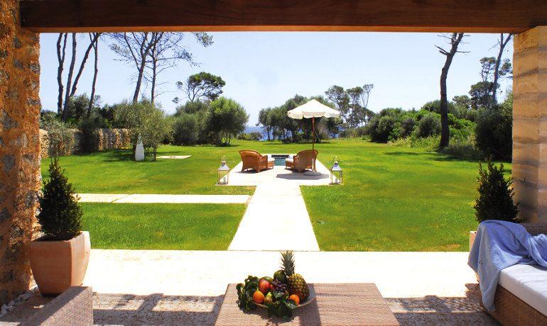 Can Simoneta hotel grand suite neptuno terrace view