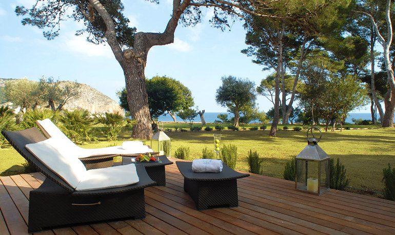 Can Simoneta hotel junior suite terrace