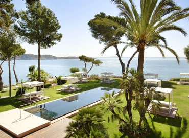 Gran Melia de Mar adults only hotel in Majorca, Spain