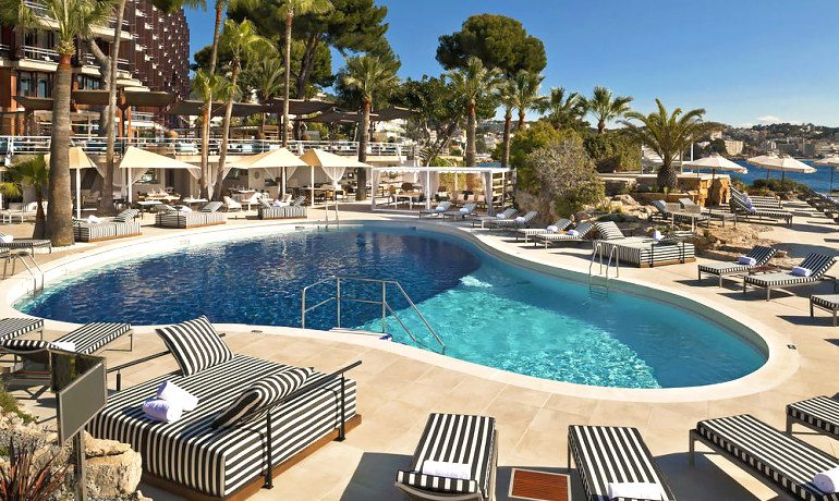 Gran Melia de Mar pool
