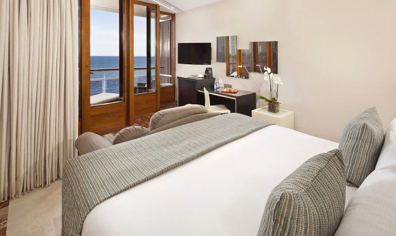 Gran Melia de Mar redlevel room with sea view