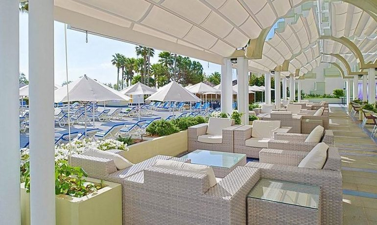 Hipotels Mediterraneo chill out zone