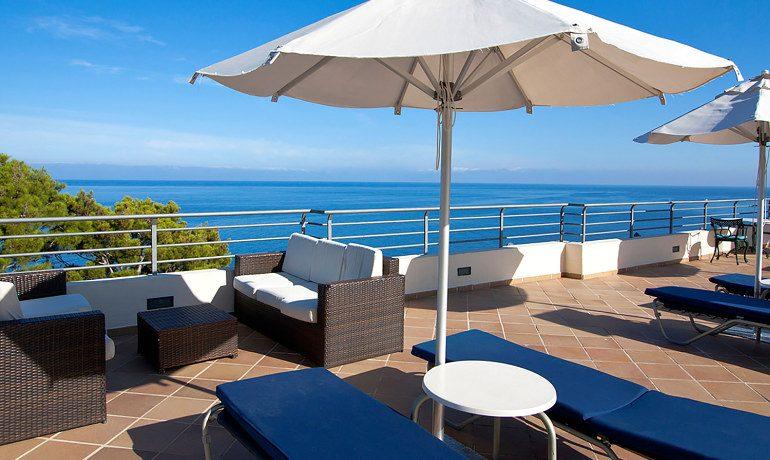 Hoposa Costa D'Or terrace