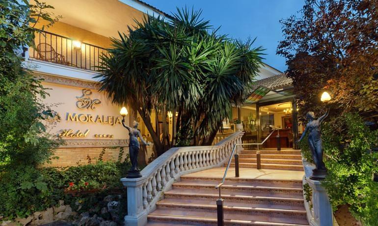 La Moraleja Boutique Hotel entrance
