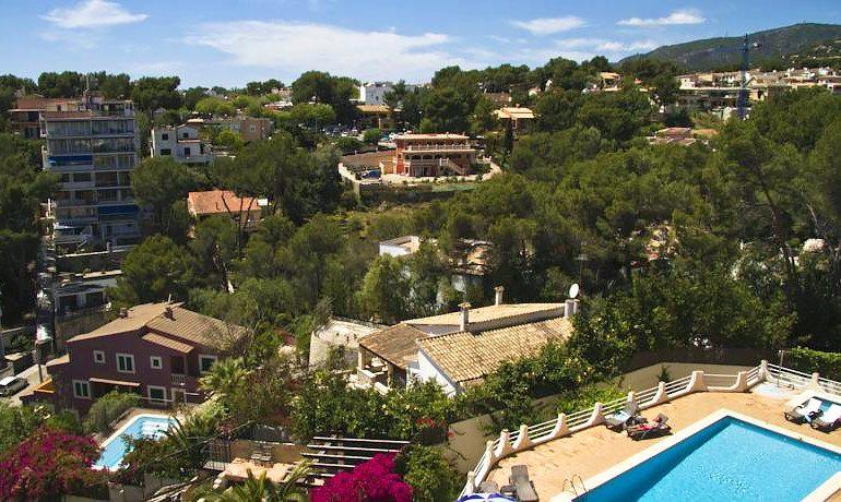 Hotel RD Costa Portals area view
