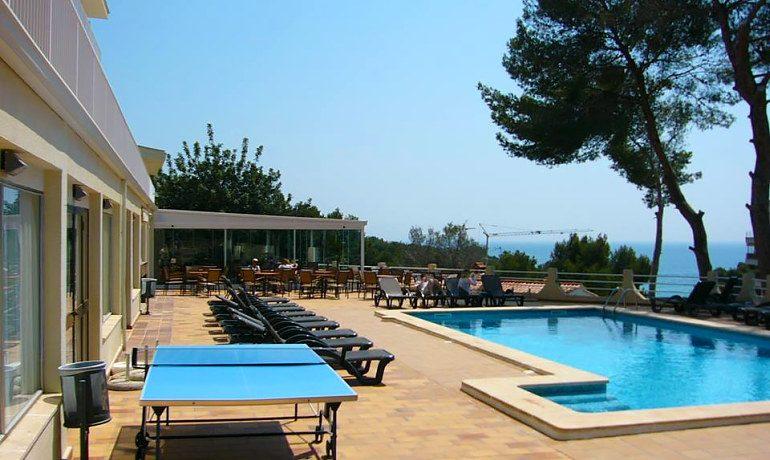 Hotel RD Costa Portals pool view