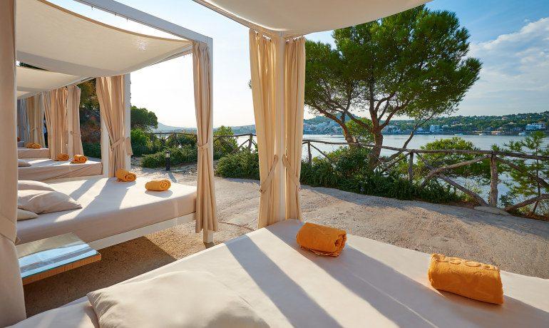 Iberostar Suites Hotel Jardín del Sol bali beds sea view