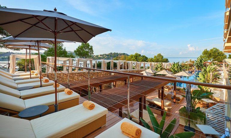 Iberostar Suites Hotel Jardín del Sol sunbeds