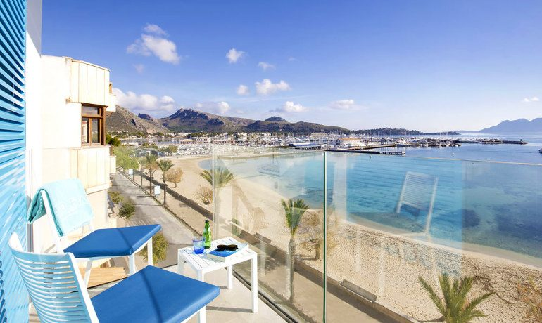 La Goleta Hotel de Mar double room balcony