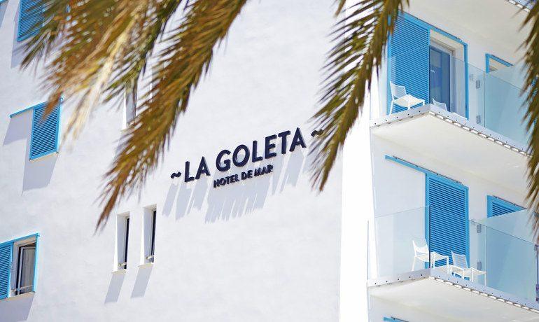La Goleta Hotel de Mar exterior