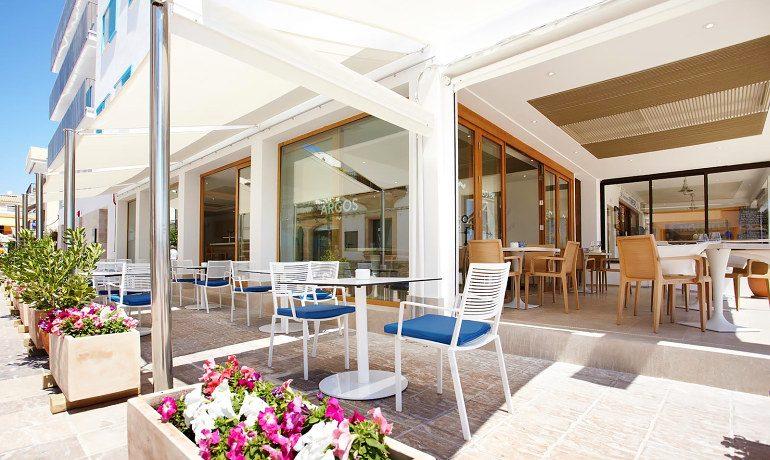 La Goleta Hotel de Mar restaurant argos terrace