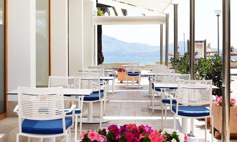 La Goleta Hotel de Mar restaurant argos terrace area