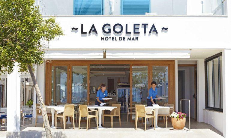 La Goleta Hotel de Mar restaurant terrace