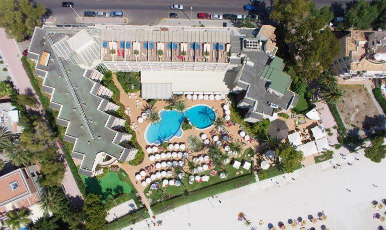 Vanity Hotel Golf aerial view