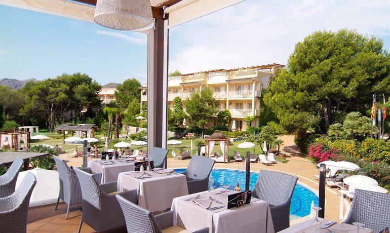 Vanity Hotel Suite & Spa adagio restaurant terrace