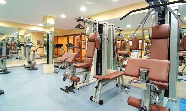 Vanity Hotel Suite & Spa gym