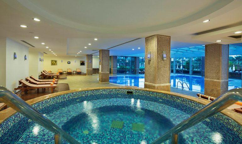 Alba Royal Hotel indoor pool area