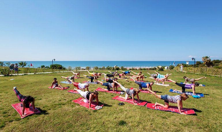 Alba Royal Hotel yoga