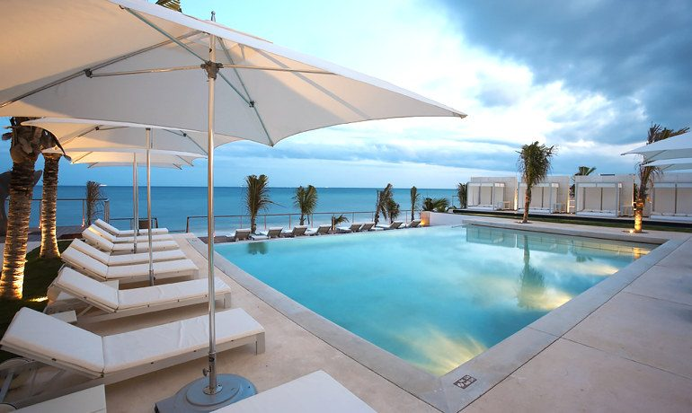 Blue Diamond Luxury Boutique Hotel pool sea view