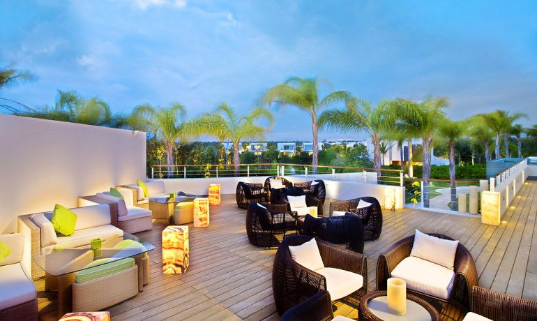 Blue Diamond Luxury Boutique Hotel rooftop lounge