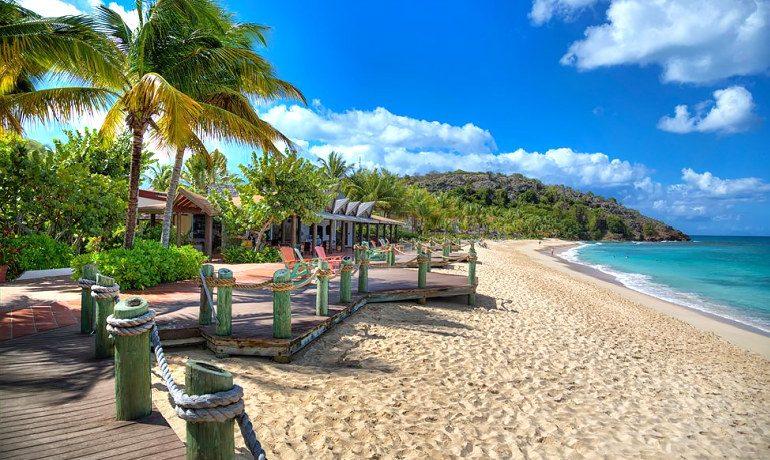 Galley Bay Resort & Spa beach view