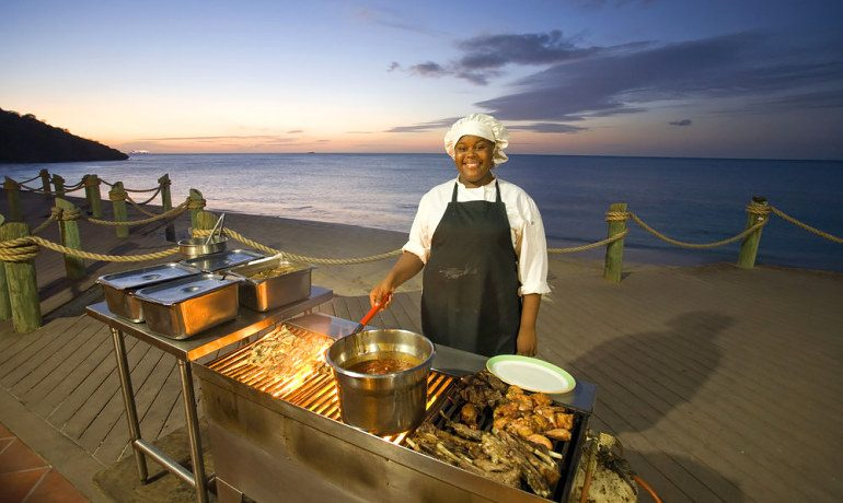 Galley Bay Resort & Spa caribbean barbecue night
