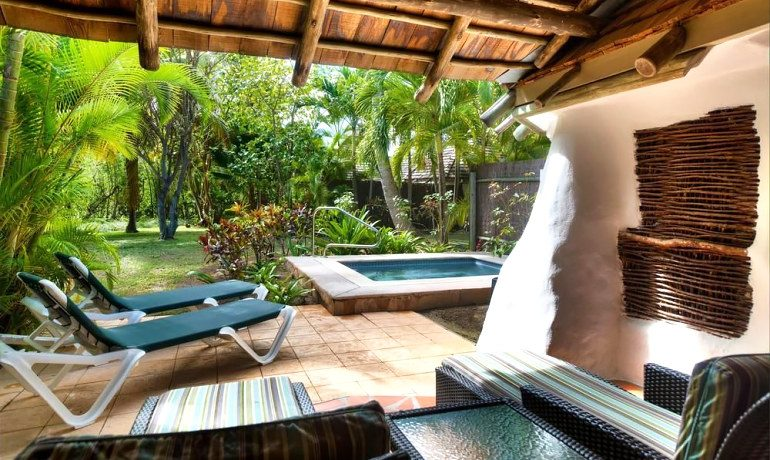 Galley Bay Resort & Spa cottage terrace
