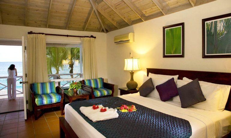 Galley Bay Resort & Spa deluxe beachfront room