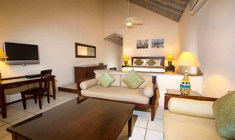 Galley Bay Resort & Spa premium beachfront suite
