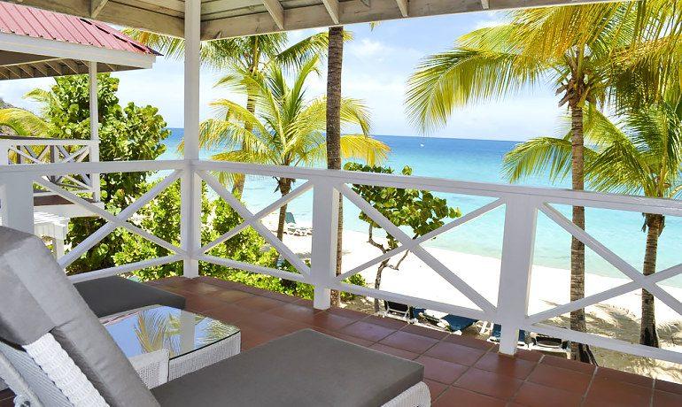 Galley Bay Resort & Spa premium suite balcony