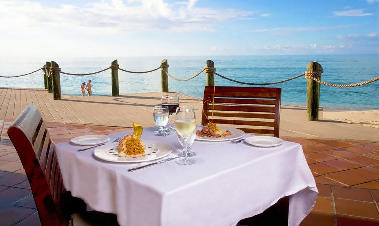 Galley Bay Resort & Spa restaurant lunch