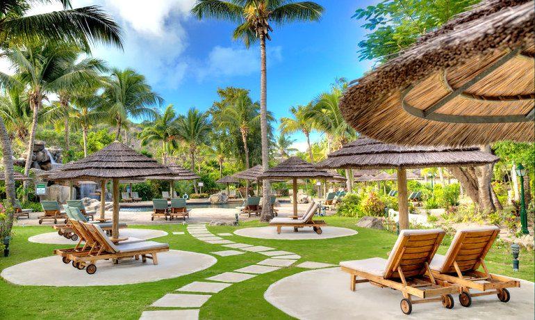 Galley Bay Resort & Spa solarium