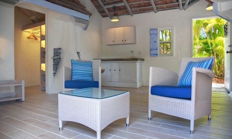 Galley Bay Resort & Spa suite living area